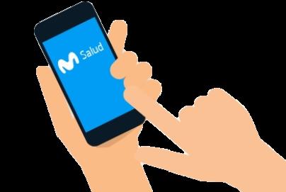 Imagen servicio de telemedicina de Movistar Salud